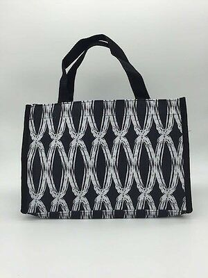 New Thirty one Mini tote all in one hand bag organizer in black links 31 gift c