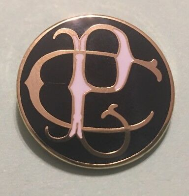 Railroad Hat-Lapel Pin/Tac- CENTRAL PACIFIC (CPRR)   #1741 -NEW