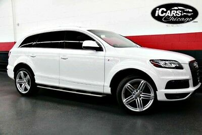 2014 Audi Q7  2014 Audi Q7 3.0T S-Line Prestige 2-Owner Air Suspension Pano Roof Serviced WoW