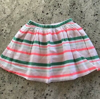 NWT Gymboree Girl's Pink Striped Skirt  Size :8 Years Orig $26.95