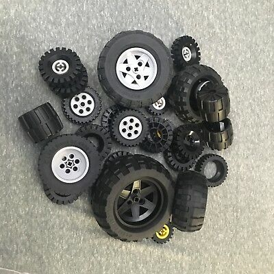 ☀️1-100 POUNDS LB Random LEGO WHEELS VEHICLES trucks cars tires racecar BULK lot