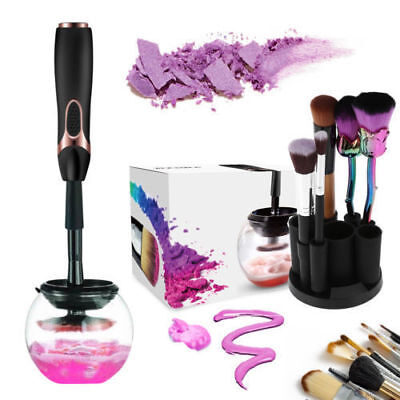 Battery Powered Electric Makeup Brush Cleaner Wash and Dryer Make Up Brush Tool