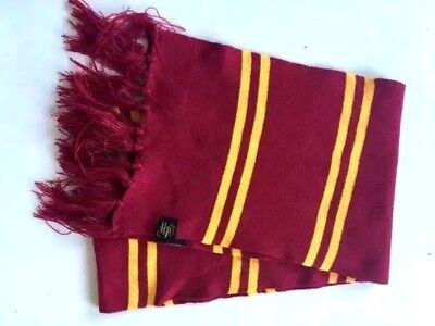 Costume Harry Potter Gryffindor Cosplay Scarves Warm Knit Scarf Wraps Authentic