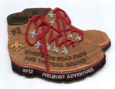 Patch From Philmont Scout Ranch -2012 Adventure