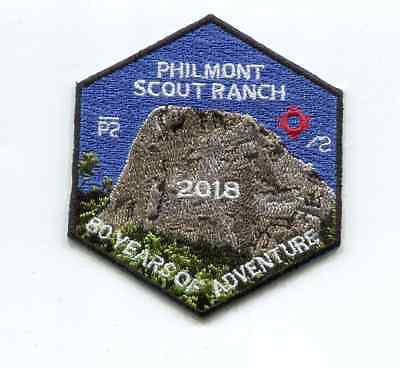 Patch From Philmont Scout Ranch -2018 Adventure