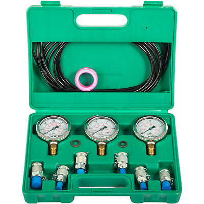 Hydraulic Pressure Test Kit for Excavator Machine Sturdy Construction GREAT