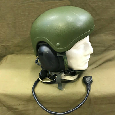 Russian tank headset a new generation of set 6Б48.Very rare.