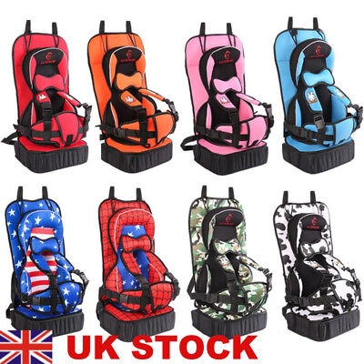 UK Child Baby Kids Car Seat Safety Booster Seat Chair Highback For Group 1/2/3
