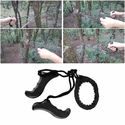 Outdoor Emergency Survival chain Saw Sawing Pocket Plastic handle Tools AZ