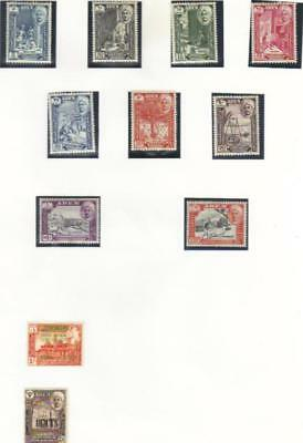 Hadhramaut Mostly Mnh Selection On Album Page