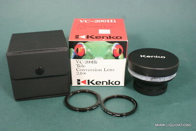Kenko  VC-200Hi Tele-Conversion Lens 2.0X  Black GENUINE Teleconverter