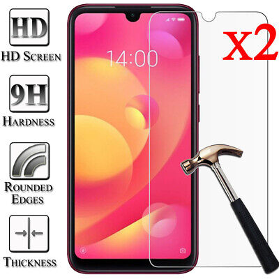 2X Tempered Glass Screen Protector Film For XiaoMi Mi 8 SE Lite 5 6 Pocophone F1