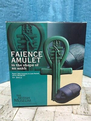 New KAIYODO The British Museum Faience Amulet in the shape of an ankh Figure