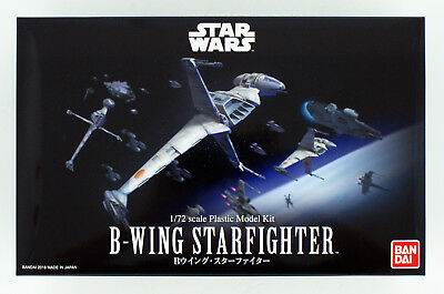 Bandai Star Wars B-Wing Star Fighter 1/72 scale kit 304562