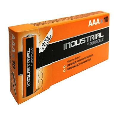 100 Batterie Duracell Industrial Procell Pile Alcaline mini Stilo AAA scad 2024