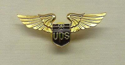 "UPS United Parcel Service ""Old Logo"" First Officer Shirt Wings NOS"
