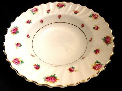 Vintage Royal Doulton Serving Bowl Mid-Mod 1950's Roses Pair of 2 Bowls
