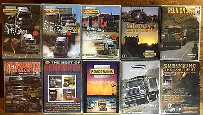 Collectors Edition of Australian Transport DVDs - Full set of 10 DVDs