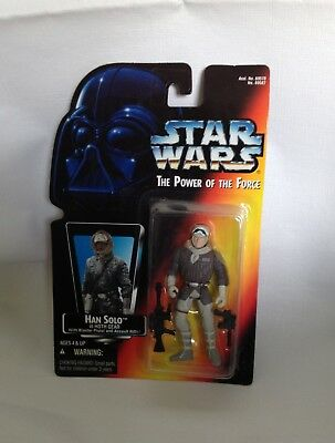 Star Wars 1995 Kenner The Power Of The Force Han Solo In Hoth Gear