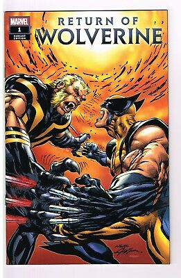 Return Of The Wolverine # 1   Neal Adams Variant   Ebay Limited Edition   Nm