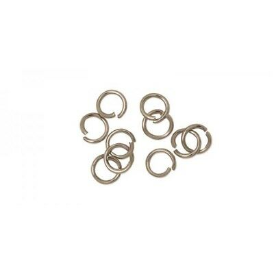 Stainless Steel Jump Rings, 5mm, Pack Of 10
