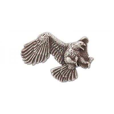 "Fighting Eagle Concho - Right Facing, .1-5/8"" x 1-1/4"" (41 x 32 Mm)"