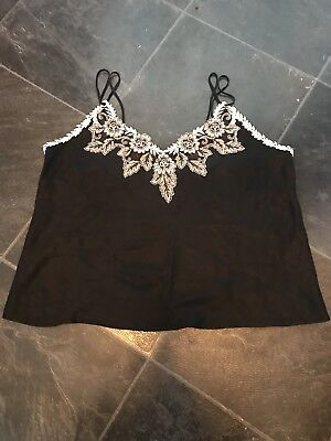 St Michaels. Marks & Spencer's. LADIES BLACK CAMI TOP SIZE 16