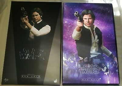 HAN SOLO Star Wars Hot Toys Sideshow 1/6th Scale Figure MMS261 NEW In Box