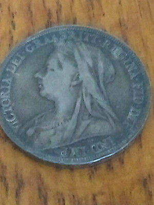 1896 Great Britain silver crown