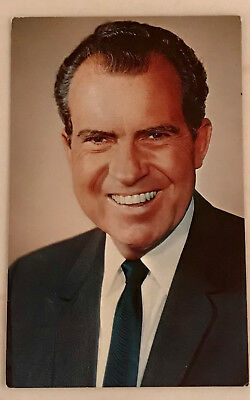Vintage President Richard Nixon 1969 Inauguration Scenic South Card Co. Postcard