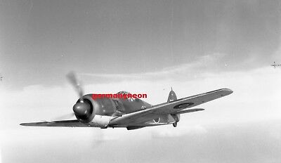 RAF,  FW 190A.,  PE882,  *Lost 1944.,  LARGE ORIGINAL NEGATIVE & PHOTO   (077)
