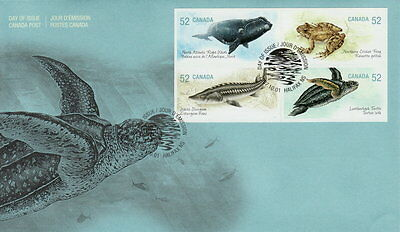 CANADA #2233a 52¢ ENDANGERED SPECIES FIRST DAY COVER