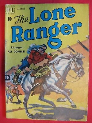 The Lone Ranger #27 1950 DELL Golden Age Comic