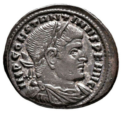 CONSTANTINE THE GREAT (315 AD) AE Follis, Rome Sol #MA 692