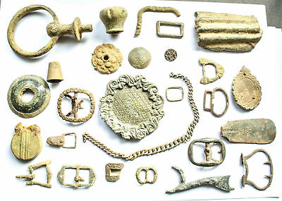 Metal Detecting finds from Medieval to Victorian