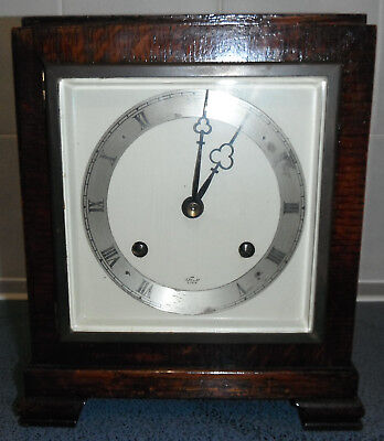ELLIOT MANTLE CLOCK Art Deco Style - not currently working Spares or Repairs