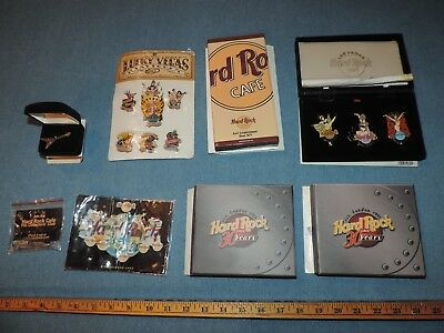 Mixed Lot Hard Rock Cafe & Hotel Collector Pins Las Vegas & Others