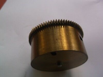 A Mainspring Barrel  From A Perivale 5 Hammer 4X4 Chime  Mantle Clock Ref P5