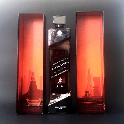 Johnnie Walker Black Label - Blade Runner 2049 - New Bottle and Box