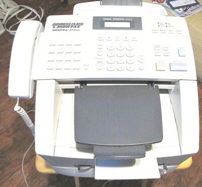 Brother fax macnine intellfax 4100e super G3/33.6kbps in working order