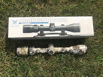 PICK YOUR CAMO Vortex Diamondback 4-12x40 Rifle scope DBK-04-BDC
