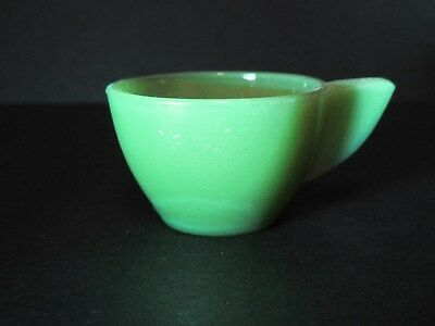 Green Akro Agate Raised Daisy Child's Tea Set Cup (s) / 6 Available