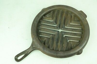 Vintage Griswold Cast Iron Double Broiler # 875A 875 A