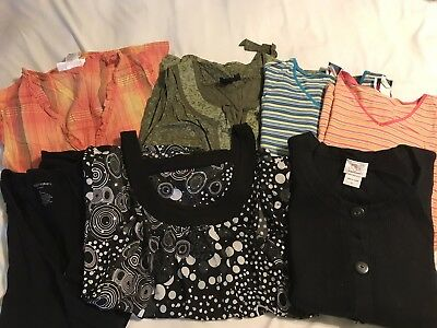 10769c7bc72ca Lot Of 7 Maternity Tops - Size L - Gently Worn