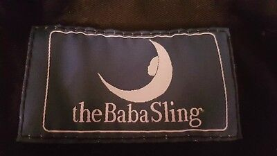 The Baba Sling Baby Carrier Black