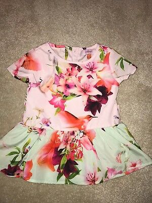Ted Baker Girl Top 12-18 Months