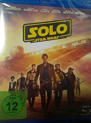 Solo  A Star Wars Story - (Blu-ray)