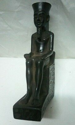 ANCIENT EGYPTIAN ANTIQUE STATUE RAMSES II Stone Statue 1279-1213 BC