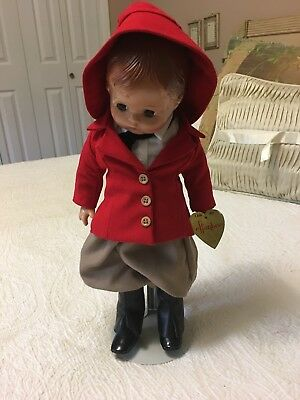 """Effanbee Patsy Joan Doll 15"""" With Eff Andbee Imprinted On Back"""