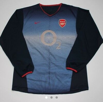 arsenal football shirt XL